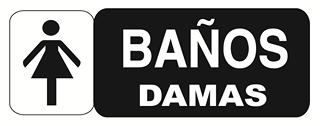 Cartel prohibido cartel informaci n - Cartel bano ...